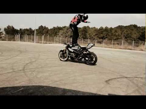 Restricted Area - Drifting Motorcycles Crossing - Drift Moto