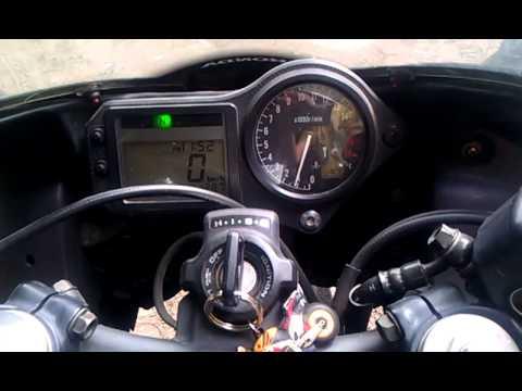 Honda CBR broken CCT sound