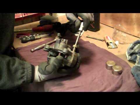 Delboy's Garage, Suzuki Bandit Brake Caliper (Full Rebuild).