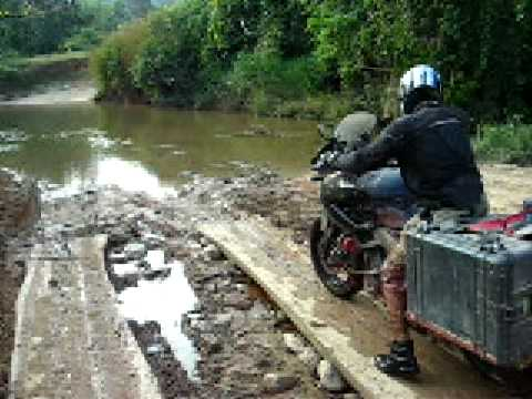 TDM900 River Crossing..