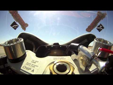 World's Fastest Electric Superbike - Mojave Mile!