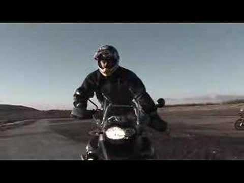 Boorman on R1200GS