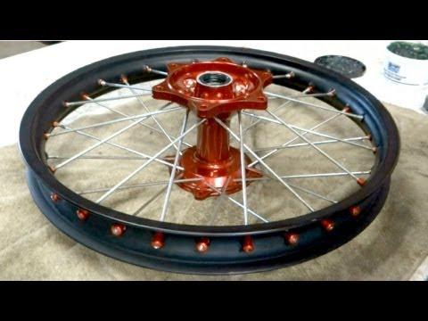 Tech Lesson 10 | Powdercoating & Building Wheels | Part 1