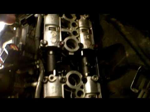 How To: Valve clearance check on a inline 4 motorcycle (example: Kawasaki ZX6R)