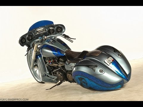 Yamaha Custom Roadliner Kit Bike Custom Bagger with Turbo & Nitrous (motorcycle interview)