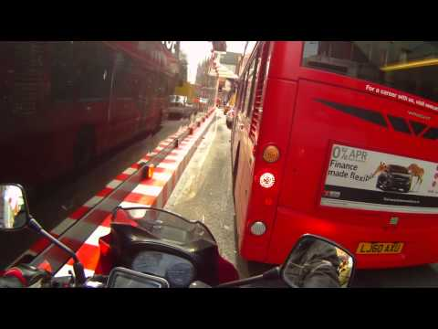 A lil bit of Thong action: Whale Tail (apparently) Stupid Traffic around the Stupid Shard.
