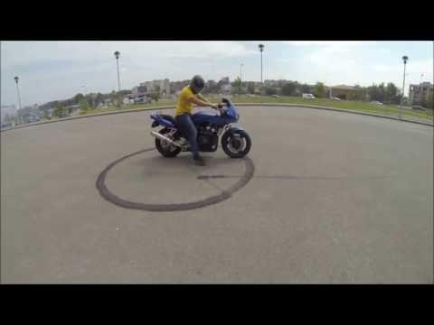 Yamaha Fazer Burnout