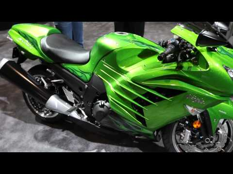 Introducing the all-new 2012 Kawasaki Ninja ZX-14R
