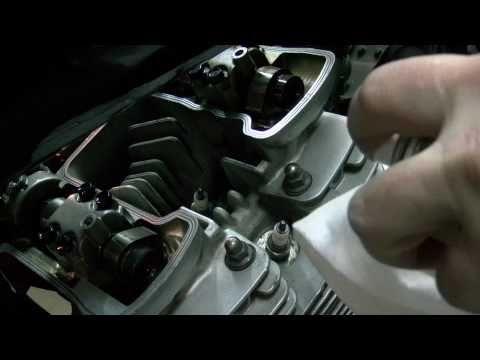 Yamaha XJ- luzy zaworowe cz.I.