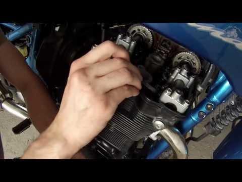 Valve clearance adjustment - Suzuki Bandit GSF 600 / 650/1200 (regulacja luzów zaworowych)