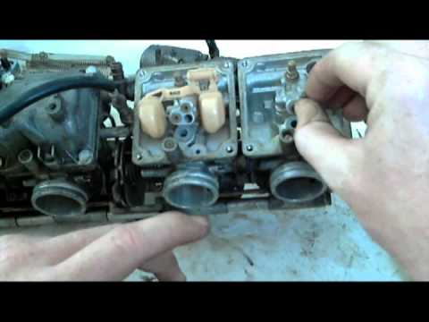 step by step fzr600 carburetor rebuild
