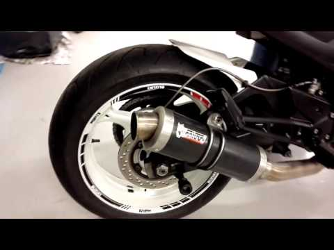 GSR600 MIVV GP exhaust LOUD
