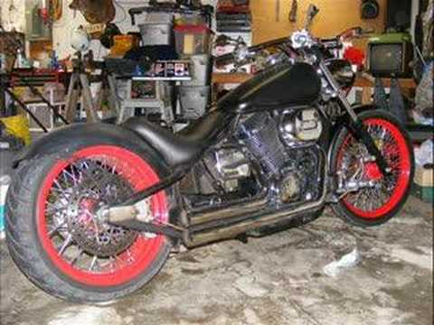 Custom Honda Shadow 750 Slide Show