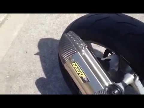 Kawasaki Z750 Mivv exhaust