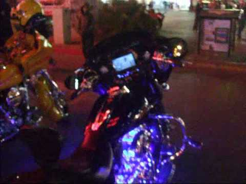 Harley Davidson with full stereo system