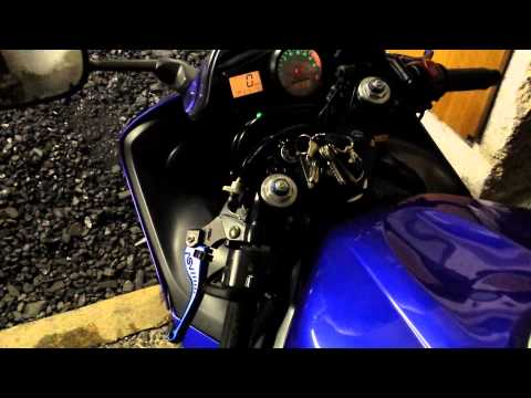 2001 Yamaha Yzf-R6 Cold start idle problem