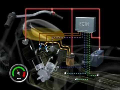 Injeção PGM-FI (Multiponto)