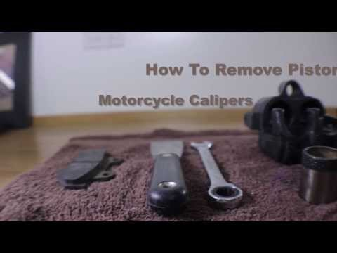 Brake Caliper Piston Removal