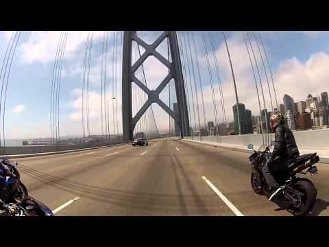 Police Do a SideShow on the Bay Bridge