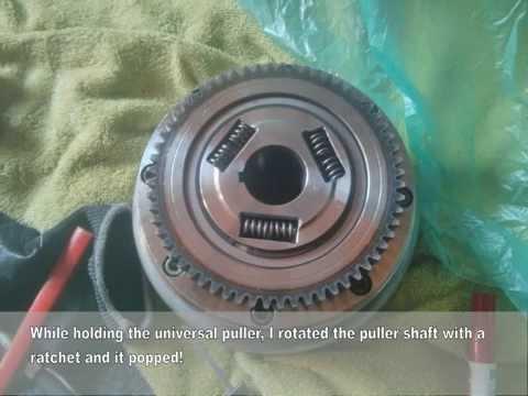 Yamaha XVS1100 DragStar Starter Clutch Replacement - Part 2