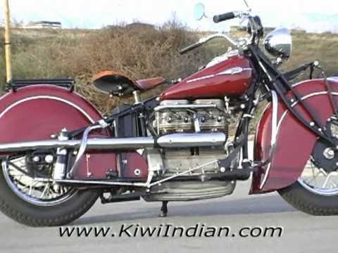 Indian Motorcycles 1941 In-Line Four 4 (Kiwi Indian Motorcycles)