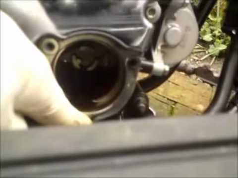 Yamaha XVS 1100 Oil & Filter Change