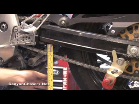 How To Adjust Your Motorcycle Chain