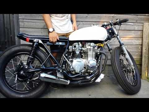 '76 CB550 Exhaust sound