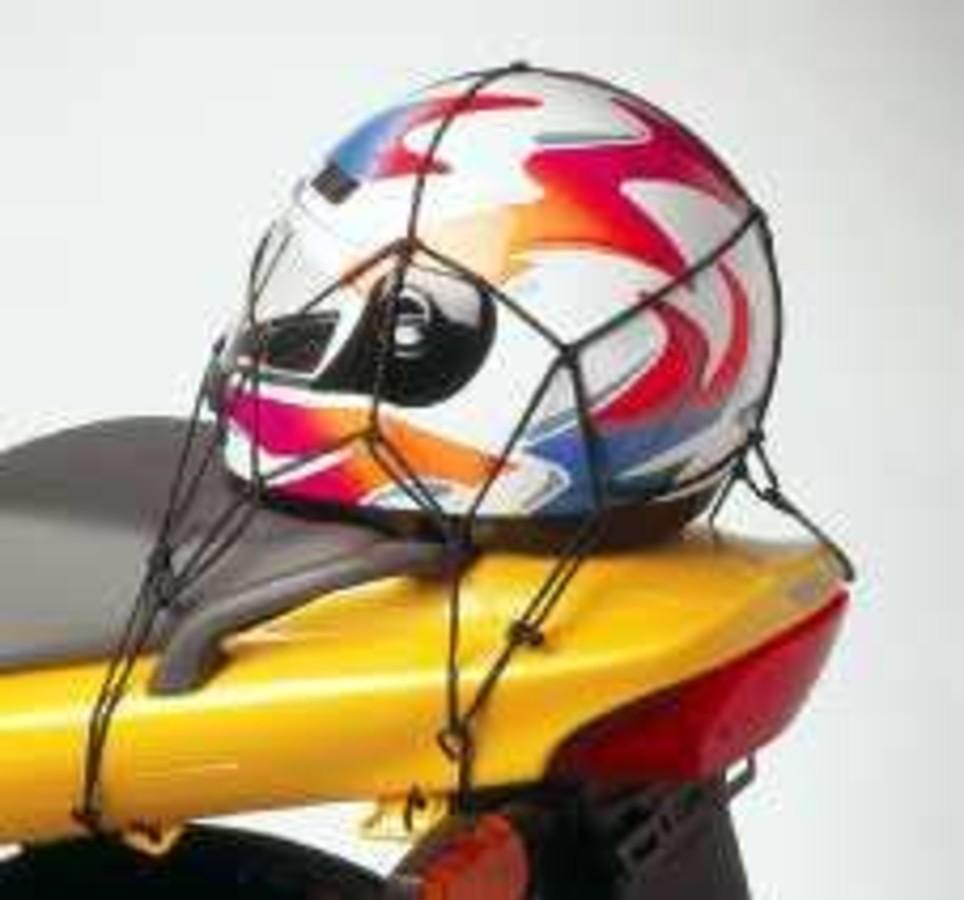 Сетка паук для мотоцикла