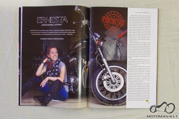 Projekto 'Garaže' nuotrauka - žurnale Biker baltics