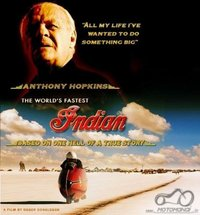 Filmas: The World's Fastest Indian (vaid. Anthony Hopkins)