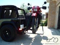 Motociklo transportavimas