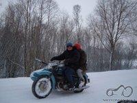 Važinėjimas žiemą