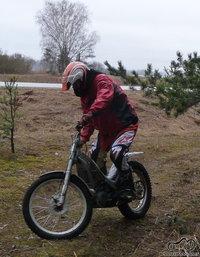 Trial bike - Miškinis motociklas