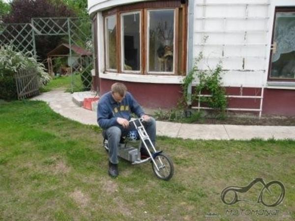 Mini moto arba pocket bike