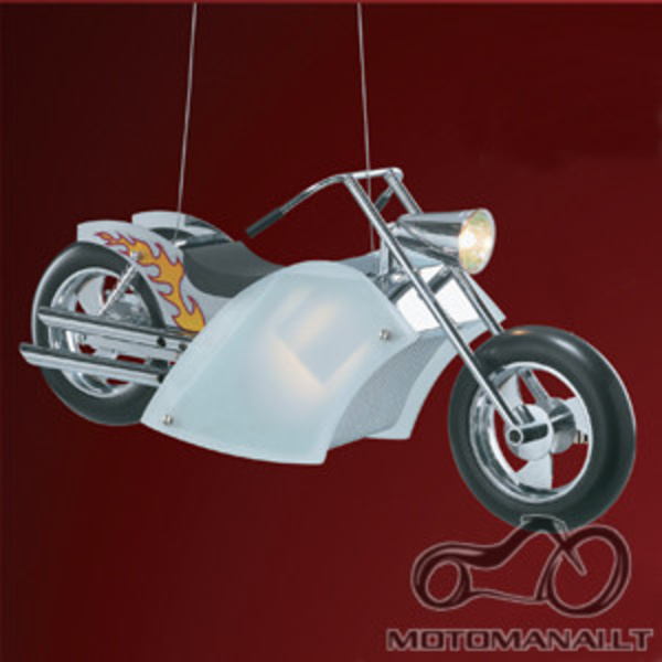 Moto šviestuvas (liustra)
