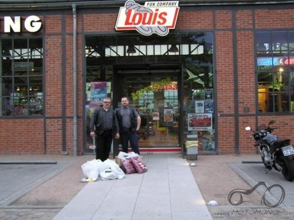 Renkam Louis užsakymą