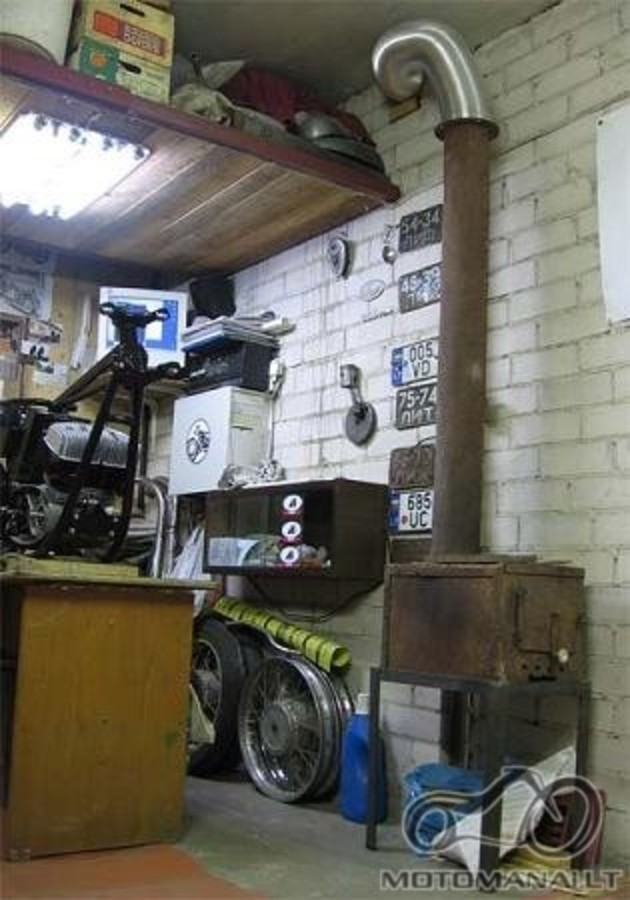 Šildytuvas į garažą