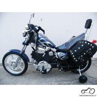 Negriunantis motociklas