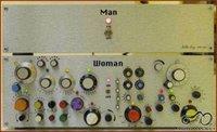 Moters ir vyro valdymo pultai