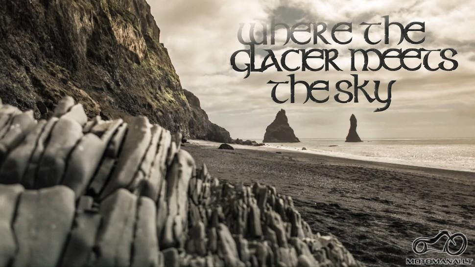 Where The Glacier Meets The Sky