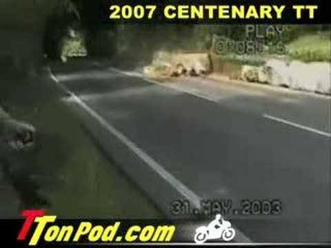 160mph CRASH at the Isle of Man TT