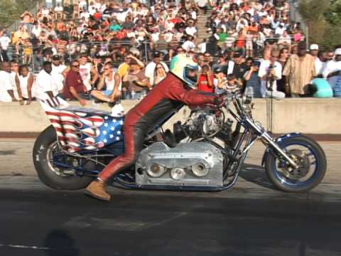 INSANE Blown V8 Drag Chopper HOONAGE - Would You Ride It?