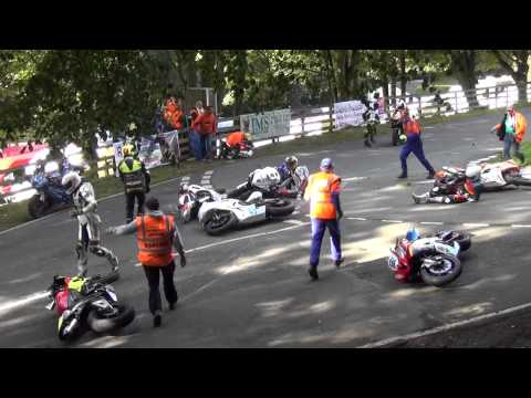 2013 Scarborough Gold Cup Crash Olivers Mount - Mere Hairpin