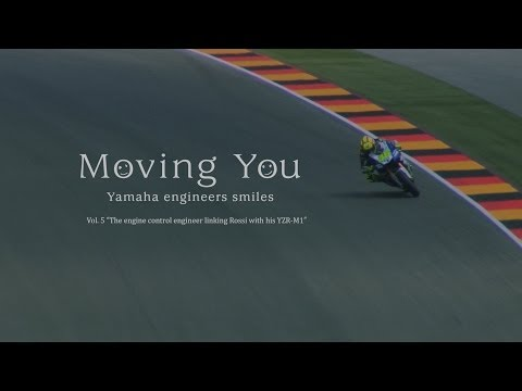 "Moving You Vol. 5 ""The engine control engineer linking Rossi with his YZR-M1"" (English)"