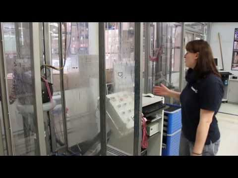 Inside Schuberth- Test Lab, Helmet Testing