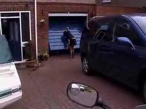 BMW F800S Garage Door Opener    www.vet.co.uk