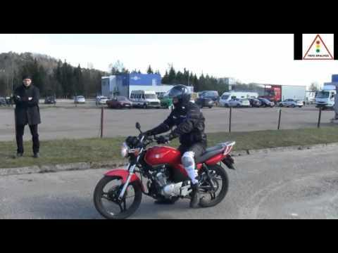 A kategorija 2014. Nauji praktinio vairavimo egzamino reikalavimai VĮ Regitroje.