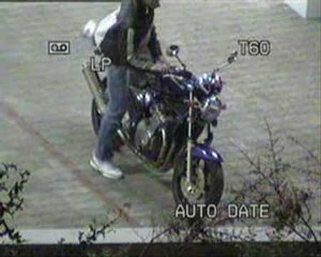 Dude stealing my motorcycle PART 2
