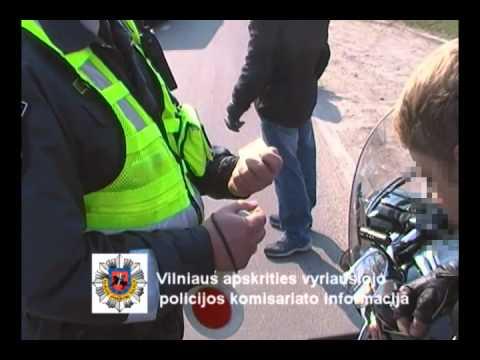 15min.lt - kultūringas policininkų pasikalbėjimas su motociklininkais